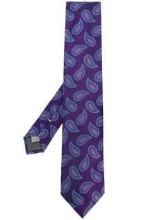 Canali галстук с принтом пейсли