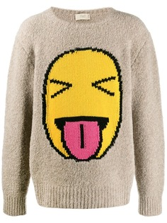 Maison Flaneur свитер с вышивкой