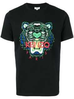 Kenzo футболка с принтом тигра
