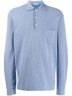 Holland & Holland рубашка-поло с длинными рукавами