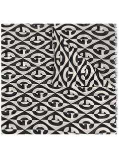 Gucci шарф с логотипом