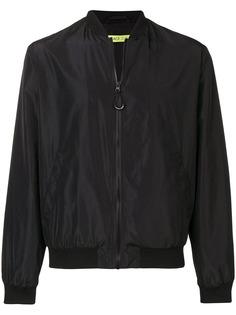 Versace Jeans куртка-бомбер с контрастным принтом