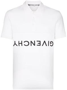 Givenchy рубашка-поло с логотипом