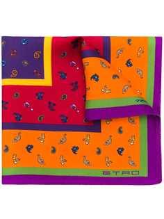 Etro платок с принтом пейсли