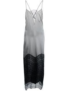 Kiki de Montparnasse вечернее платье с кружевными вставками