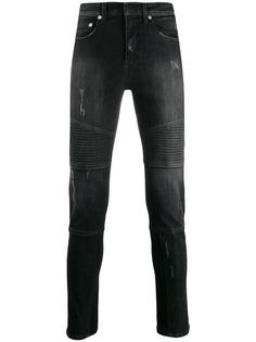 Neil Barrett джинсы со вставками в рубчик