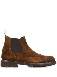 Doucals ботинки с брогированием