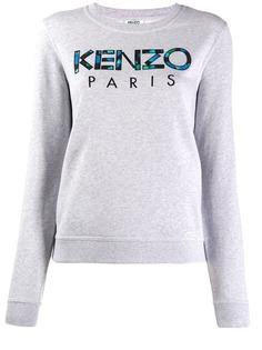 Kenzo толстовка с вышитым логотипом
