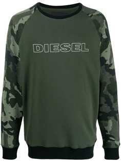Diesel толстовка с логотипом