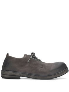 Marsèll состаренные ботинки на шнуровке