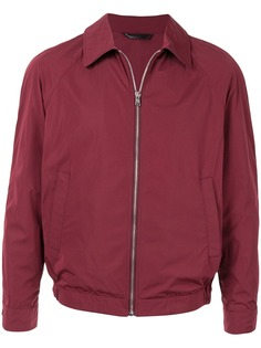 Gieves & Hawkes куртка-бомбер на молнии
