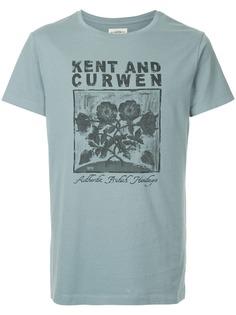 Kent & Curwen футболка с принтом логотипа