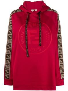 Fendi свитер Fendi Roma Amor с капюшоном