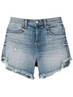 J Brand джинсовые шорты с бахромой