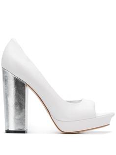 Versus туфли-лодочки с открытым носком