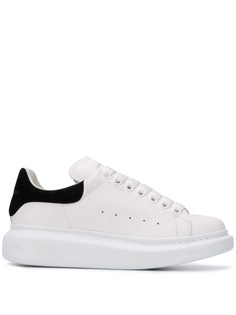 Alexander McQueen кроссовки на утолщенной подошве