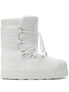 Moncler ботинки на шнуровке