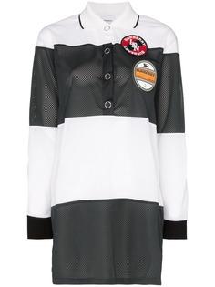 Burberry сетчатая рубашка-поло Airtex