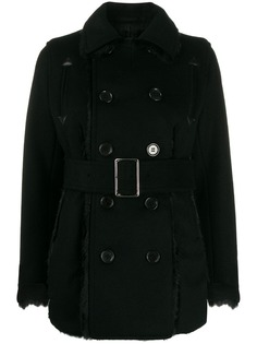 Comme Des Garçons Noir Kei Ninomiya belted duffle coat