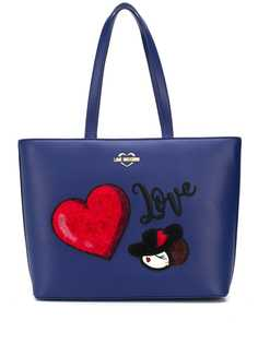 Love Moschino сумка-шопер Love