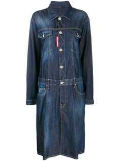 Dsquared2 джинсовое платье оверсайз