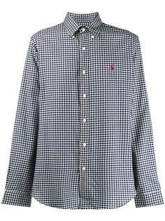 Polo Ralph Lauren рубашка в клетку гингем