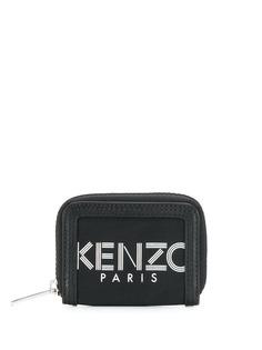 Kenzo кошелек на молнии с логотипом