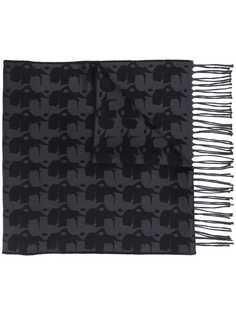 Karl Lagerfeld шарф с графичным принтом