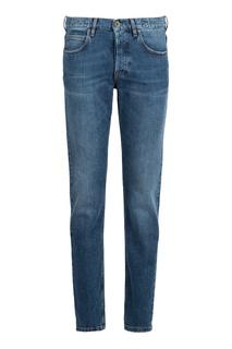 Прямые синие джинсы Eleventy