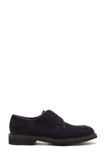 Синие замшевые туфли Barrett