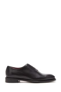 Черные кожаные туфли на шнуровке Barrett