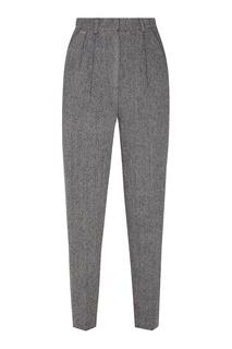 Темно-серые зауженные брюки Laroom