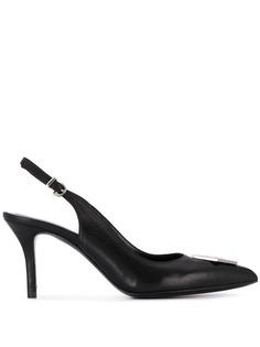 Philipp Plein туфли-лодочки Decollete Maculate с открытой пяткой
