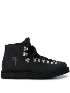 Diemme ботинки для хайкинга с изображением пальм