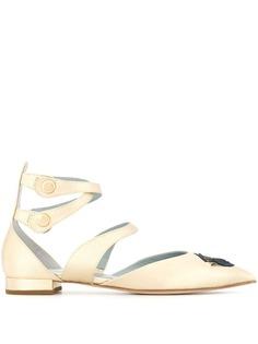 Chiara Ferragni туфли-лодочки с ремешками на щиколотке