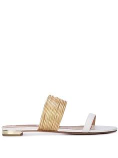 Aquazzura сандалии с ремешком в стиле браслета