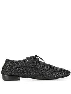 Marsèll туфли плетеного дизайна