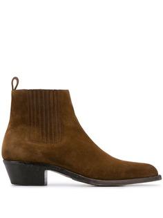 Saint Laurent ботинки челси Wyatt