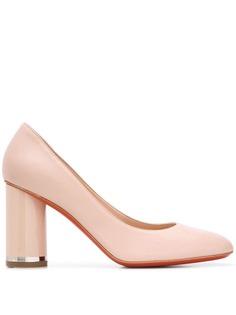 Baldinini туфли на наборном каблуке