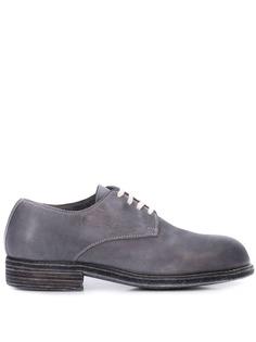 Guidi туфли на шнуровке