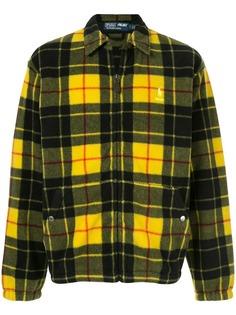 Palace флисовая куртка в клетку