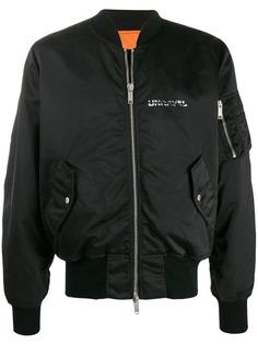 Unravel Project куртка-бомбер с логотипом