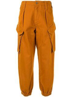 MarquesAlmeida зауженные брюки карго