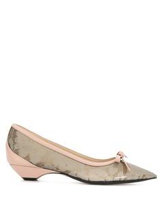 Nº21 полупрозрачные туфли-лодочки
