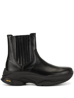 Wooyoungmi массивные ботинки Vibram