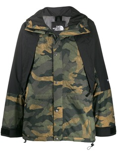 The North Face camouflage panel jacket