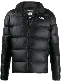 The North Face embroidered logo down jacket