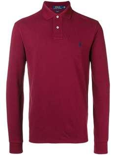 Polo Ralph Lauren классическая рубашка-поло с длинными рукавами
