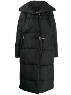 Barbara Bui стеганое пальто с пряжкой