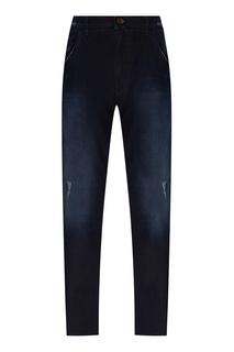 Темно-синие джинсы из хлопка Dolce & Gabbana